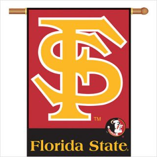 BSI Products Florida State Seminoles 2 Sided Banner with Pole Sleeve