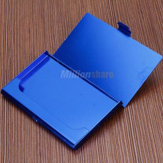 Newly listed New 18g Business ID Credit Card Holder Aluminum Case Box