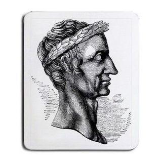 Julius Caesar Bust Portrait Art Computer Mouse Pad