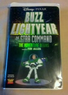 Buzz Lightyear of Star Command The Adventure Begins (VHS, 2000) RARE
