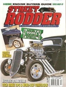 December 1996 Street Rodder Street Zoomies 37 Willys LS1 Phantom