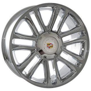 20 inch Cadillac Escalade 2012 Platinum chrome wheels rims