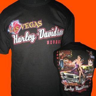 Las Vegas Dealer FREEMONT ST. PINUP on CADDY T Shirt 3X # LV005