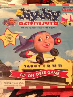 Jay Jay The Jet Plane Fly On Over Board Game New Sealed HTF