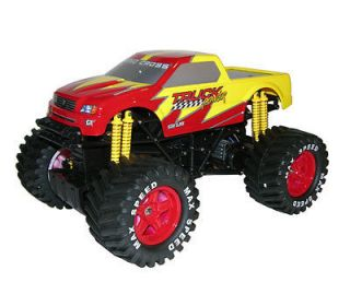 Titan Off Road Monster Truck 1/10 Electric Remote Control RC   Red