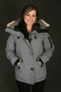 Canada Goose MonteBello Parka Womens Jacket in Grey (2530L GREY)