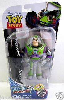 BUZZ LIGHTYEAR with Turbo Wings Disney Pixar Toy Story RCs Race