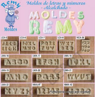 LETTERS A Z ALPHABET Chocolate Candy Soap molds kids party favors