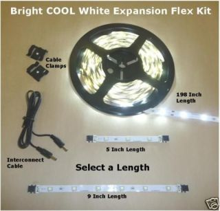 Flex Strip under cabinet LED Light EXPANSION KIT BCW