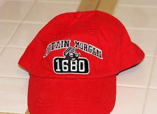 ... Captain Morgan 1680 RED Adjustable Ball Cap Hat ... 04d022443a82