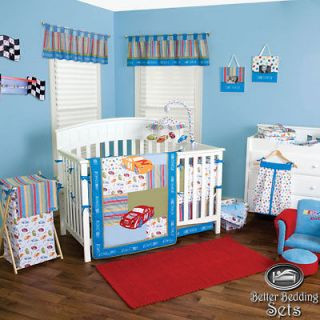 Baby Infant Boy Toddler NHR Nascar Race Car Crib Nursery Blanket