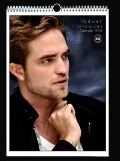ROBERT PATTINSON 2013 Wall Holiday Calendar TWILIGHT Edward Cullen
