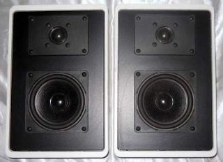 PAIR CANTON PLUS F WALL MOUNT BOOKSHELF SPEAKERS