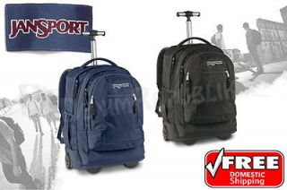 New JanSport Driver 8 TN89 Backpack Rolling Student Wheels Book Bag