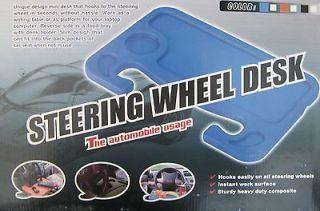 Car Laptop desk/Steering Wheel Multi Tray work table ships fast