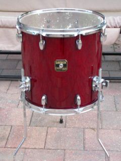 RECENT GRETSCH 14 CATALINA MAPLE FLOOR TOM in CHERRY RED for DRUM SET