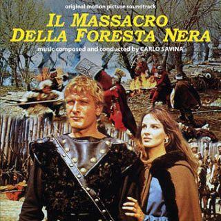 Carlo Savina Il massacro della foresta nera 66 OST NEW CD