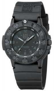 Luminox Navy Seal Black Polyurethane Mens Watch 3001.BO
