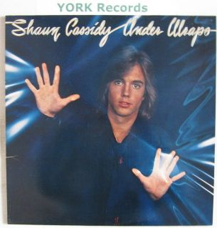 SHAUN CASSIDY   Under Wraps   Excellent Con LP Record