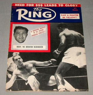 Official March 1956 The Ring Boxing Magazine