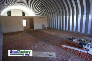 S30x30x14 Metal Storage Building Horse Barn Prefab Arch Panel Kit