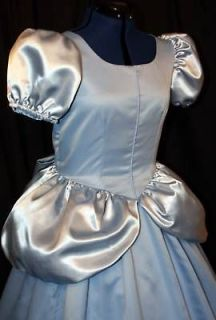 Adult CINDERELLA Costume GOWN Version #3 Custom Size