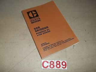 Caterpillar 528 Skidder ORIGINAL Parts Book Serial Nos include 51S288