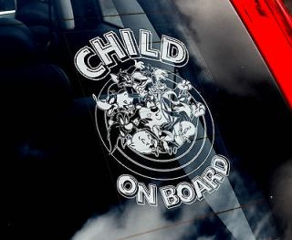 Child On Board   Looney Tunes Car Sticker   OR Kids   Tom,Jerry,Taz