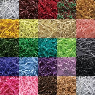 12oz   24 COLORS   U PICK Gift Basket Shred, Crinkle Paper Grass