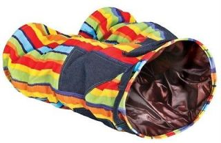 Four Paws Catnip Crazy Pants Cat Tunnel Toy 25x12x9