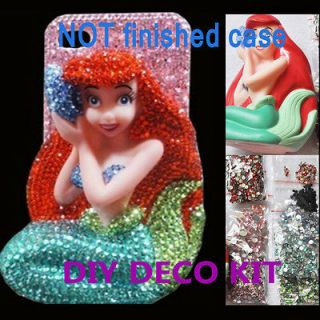 Disney Little Mermaid DIY Cell Phone iPhone Case   Deco Den Kit