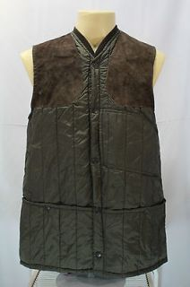 Vintage Beaver Fishing Duck Hunting Shooting Vest Jacket Made In