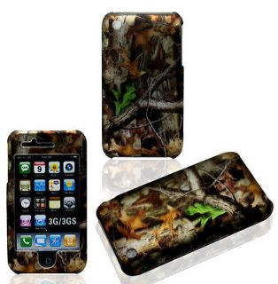 2D Camo Trunk V Apple Iphone 3GS, 3G Case Cover Hard Phone Cases Snap