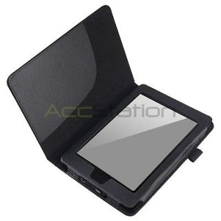 Newly listed Black PU Leather Folio Book Style Case Cover For Kindle