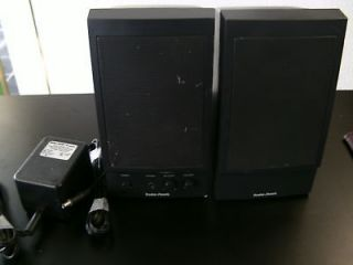 RADIO SHACK   AMPLIFIED SPEAKER SYSTEM   GREAT SOUND