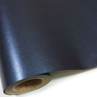 ] NEW NAVY SOLID COLOR GIFT WRAPPING PAPER ROLL 65 ft 20 metres
