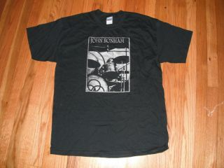 JOHN BONHAM  LED ZEPPELIN T shirt