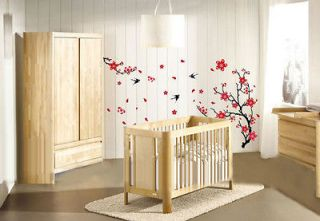 Blossom Flower Removable Wall Sticker Decor Decal Background 90*60