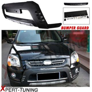 FIT FOR 08 09 10 11 KIA SPORTAGE OE FACTORY STYLE FRONT BUMPER GUARD