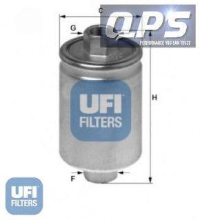 Chevrolet Blazer S10/T10 2.2 F.I. (VIN 4) UFI Fuel Filter, 01/94   12