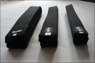 Embroidered Black Belt Martial Arts, Karate Taekwondo Judo Jiujitsu