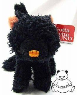 Creepers Black Cat Halloween Gund Plush Toy Stuffed Animal Orange