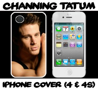 Channing Tatum WHITE Iphone 4/4S hard case fits iphone 4 /4s mobile
