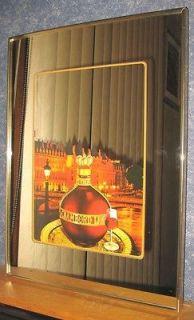 Chambord Liqueur Plastic Frame Bar Mirror