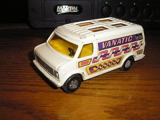 32 ? 4 3/4 long Diecast CORGI Vintage 1970s Chevy Panel Van VANATIC