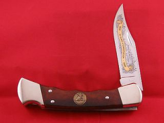 Buck 110 Ducks Unlimited CANADA Years of Conservation 1938 1988 knife