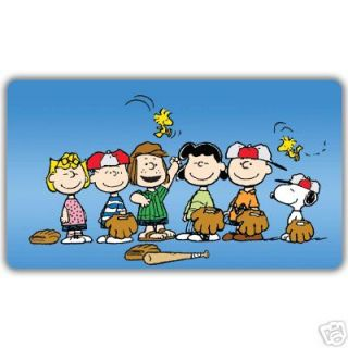 BASEBALL Team Window Cling Decal Sticker SNOOPY, Charlie Brown etc