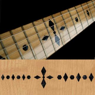 Checker (BP) Fret Markers Inlay Sticker Decal Guitar