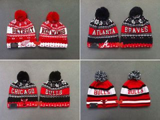 WINGS ATLANTA BRAVES CHICAGO BULLS Beanies Cotton knit cap wool Hats