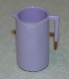 BARBIE DOLL KITCHEN ACCESSORIES * LAVENDER WATER PITCHER
